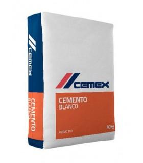 Bulto de cemento blanco Cemex