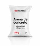 Arena de concreto